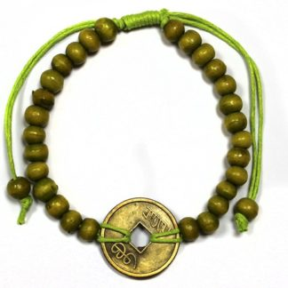 Feng shui käevõru roheline