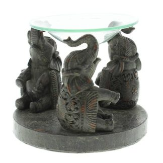 Aroomilamp kolm elevanti eeterlike õlide jaoks