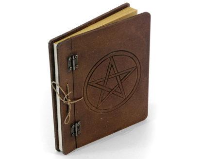 Pentagrammiga antiikne päevik
