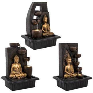 Kuldne Buddha purskkaev