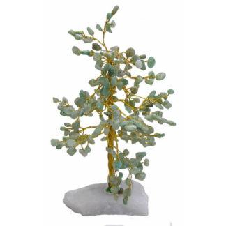 Kristallipuu rohelise aventuriiniga