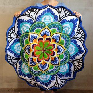 Ümmargune meditatsioonimatt Mandala Meditation