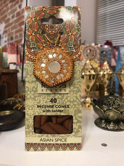 Karma koonusviiruk Asian Spice viirukialusega