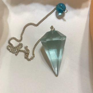 Sinine obsidiaan pendel