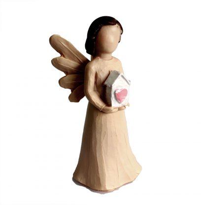 Looduse inglid - armastuse majakesega ingel