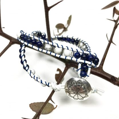 Lasuriidiga käevõru (lapis lazuli)