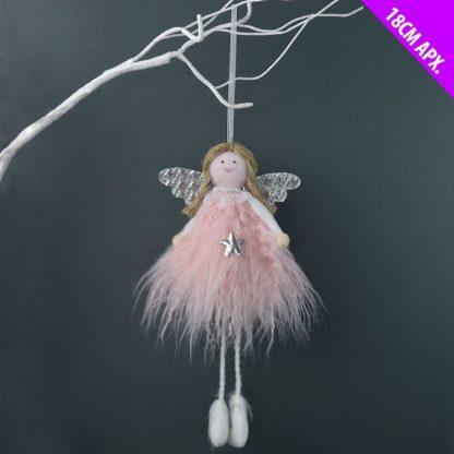 Roosa riputatav ingel