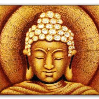 Kuldne päikse Buddha maal