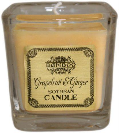 Sojavahast lõhnaküünal greip ja ingver