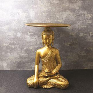 Kuldne Buddhaga laud